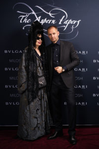 Diane Pernet & Milosh Harajda