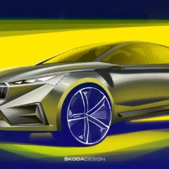 Škoda představila nový elektro koncept Vision iV